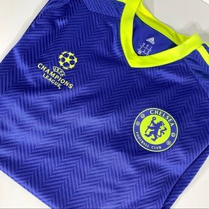 🔮 Adidas Chelsea Champions League Warm-up Jersey